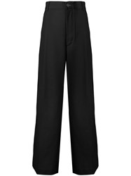 Ambush High Waisted Flare Jeans Black