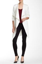 Fate Long Drape Jacket White