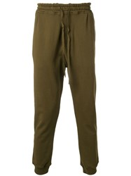 Haider Ackermann Tapered Track Pants Green