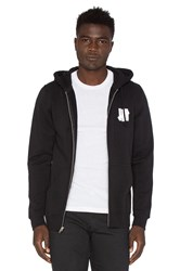 Undefeated Chest Strike Zip Hoodie Black
