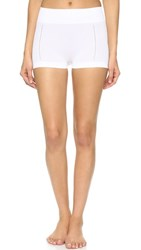 Spanx Lounge Hooray Boyshorts White