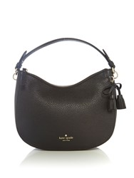 Kate Spade New York Hayes Street Small Aiden Hobo Bag Black