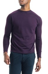 Good Man Brand Modern Slim Fit Merino Wool Sweater Wine
