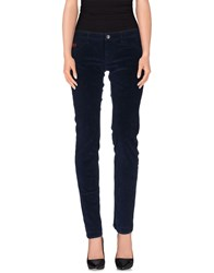 Unlimited Trousers Casual Trousers Women Dark Blue