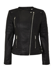 Salsa Longsleeve Biker With Zips Jacket Black