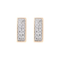 Ginette_Ny Diamond Baguette Stud Earrings