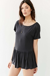 Cooperative Be My Baby Tunic Top Black