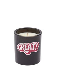 Anya Hindmarch Smells Pencil Shavings Small Scented Candle Black Multi