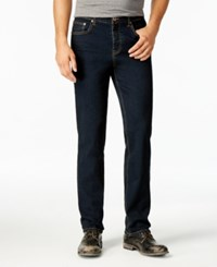 American Rag Men's Riviera Slim Fit Jeans Only At Macy's Dark Blue Wash