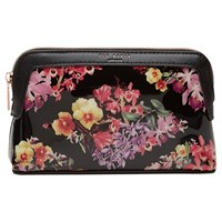 Ted Baker Dannika Lost Gardens Makeup Bag Black