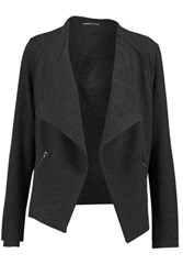 Majestic French Terry Cardigan Anthracite