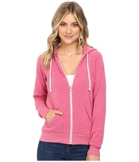 Alternative Apparel Adrian Hoodie Eco Summer Berry Women's Sweatshirt Pink