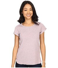 Columbia Trail Shaker Short Sleeve Shirt Sparrow Heather Women's Short Sleeve Pullover Pink