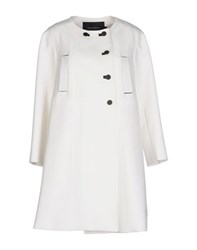 Tara Jarmon Coats And Jackets Coats Women White