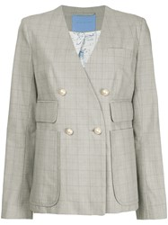 Macgraw Astronomer Tweed Blazer Grey
