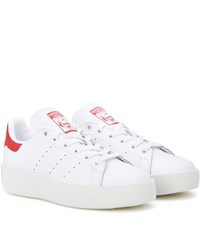 Adidas Stan Smith Leather Sneakers White