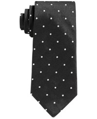 Brooks Brothers Dot Tie Black