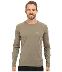Arc'teryx Motus Crew Long Sleeve Pangea Men's Clothing Beige