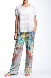 Johnny Was Printed Pant Multi