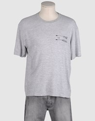 G750g Topwear Short Sleeve T Shirts Men Light Grey