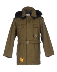 .. Beaucoup Jackets Military Green