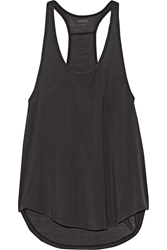 Yummie By Heather Thomson Nadia Ribbed Stretch Modal Tank
