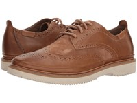 Hush Puppies Samme Bernard Light Brown Leather Suede Shoes