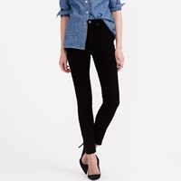 J.Crew Lookout High Rise Jean In Black