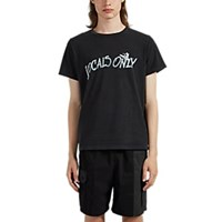Remi Relief Locals Only Cotton T Shirt Black