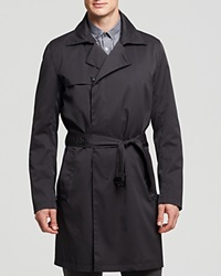 Theory Roaglin Julius Trench Coat Black
