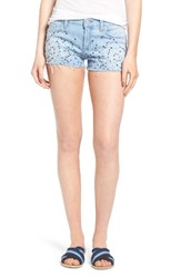 Hudson Jeans Women's Embroidered Cutoff Shorts