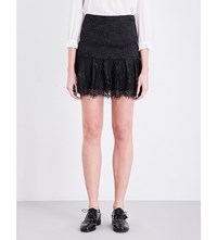 Claudie Pierlot Sonny Lace Skirt Noir