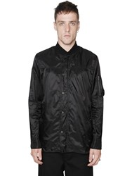 Diesel Black Gold Nylon Shirt Jacket