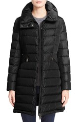 Women's Moncler 'Flammette' Long Hooded Down Coat