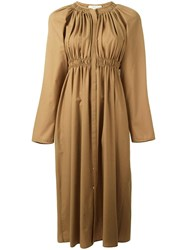 Christophe Lemaire Elasticated Dress Nude Neutrals