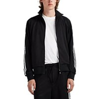 Y 3 Striped Tech Jersey Track Jacket Black
