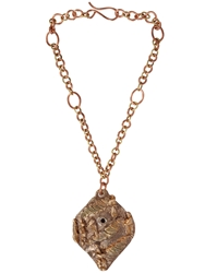 Maggie Maggi 'Art' Hand Made Bronze Necklace
