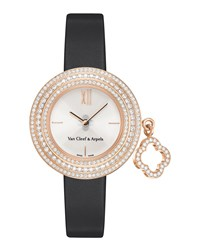 Charms Pink Gold Mini Watch 25Mm Van Cleef And Arpels Ivory