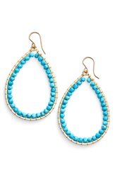 Sonya Renee 'Mazzy' Teardrop Earrings Turquoise