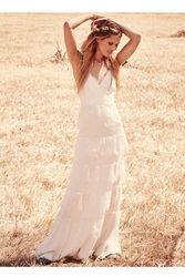 Erin Fetherston Tiered Lace Maxi