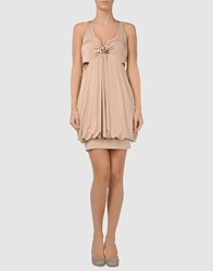 Phard Dresses Short Dresses Women Beige