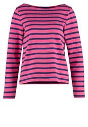 Gant Long Sleeved Top Rich Pink