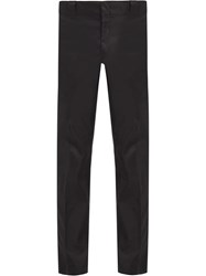 Prada Tailored Cropped Trousers Black