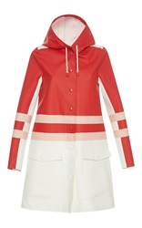 Marni Midi Length Raincoat Stripe