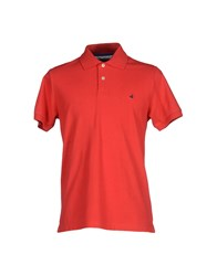 Brooksfield Topwear Polo Shirts Men Red