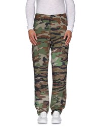 Denim And Supply Ralph Lauren Trousers Casual Trousers Men Military Green