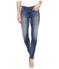 Kut From The Kloth Mia Toothpick Skinny In Exotic Exotic Medium Base Wash Women's Jeans Blue