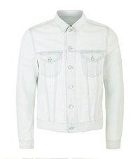 Acne Studios Who Bleached Denim Jacket Male Ivory