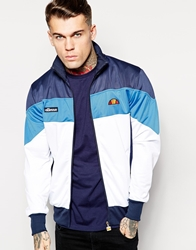 Ellesse Elllesse Track Jacket With Colour Block Blue