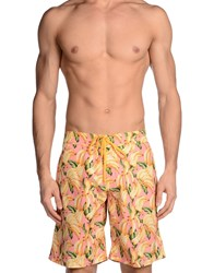 Pin Up Stars Swimwear Swimming Trunks Men Pink